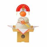 Japanische Dekoration des neuen Jahres Lizenzfreie Stockfotos