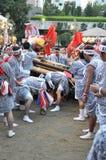 Japanische Festivals Stockbild