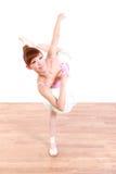 Japanische Frau tanzt Ballett Lizenzfreie Stockfotos