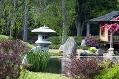 Japanische Gärten Lizenzfreies Stockfoto