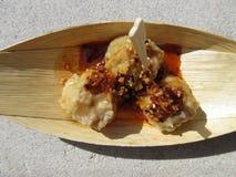 Japanische Garnelen-Mehlklöße Lizenzfreies Stockfoto