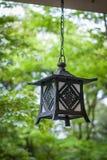 Japanische Garten-Laterne Stockfoto
