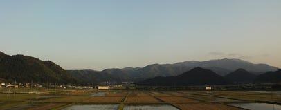 Japanische Gebirgszug-Ansicht - Kyoto, Japan Lizenzfreie Stockfotos