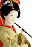 Japanische Geishapuppe Stockbild