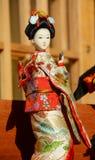 Japanische Geishapuppe lizenzfreies stockfoto
