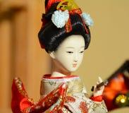 Japanische Geishapuppe Lizenzfreie Stockfotografie