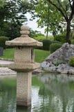 Japanische Granitlaterne version3 Stockbild