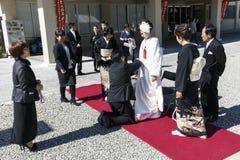Japanische Hochzeit Stockfotografie