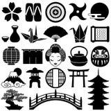 Japanische Ikonen Stockfotografie