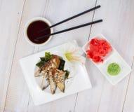 Japanische Küche Sushi Stockfoto