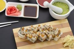 Japanische Küche Sushi Stockfotos