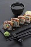 Japanische Küche Sushi Lizenzfreie Stockfotos