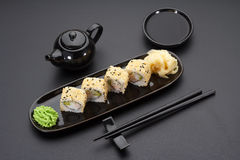 Japanische Küche Sushi Lizenzfreie Stockfotografie