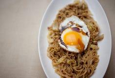 Japanische Küche Yakisoba (ç ¼ ããã°) Stockfotografie