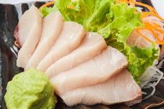 Japanische Küchesashimisushi Lizenzfreies Stockfoto