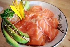 Japanische Lachse ziehen an stockbilder
