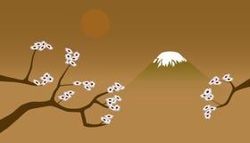 Japanische Landschaft Lizenzfreies Stockbild