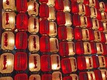 Japanische Laternen Lizenzfreies Stockfoto