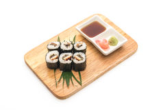 japanische Lebensmittelart Aal maki Sushi Lizenzfreie Stockfotografie