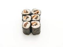japanische Lebensmittelart Aal maki Sushi Stockfotos