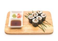 japanische Lebensmittelart Aal maki Sushi Lizenzfreies Stockfoto