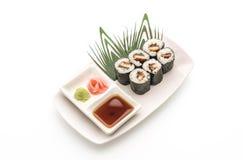 japanische Lebensmittelart Aal maki Sushi Stockbilder