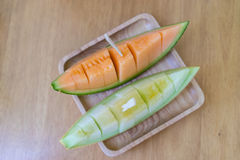Japanische Melone Stockbild