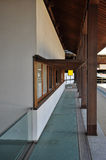 Japanische moderne Architektur, neues Tempeldesign in Kotohira Lizenzfreie Stockbilder