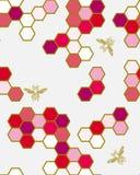 Japanische Muster Biene! Stockfoto