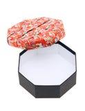 Japanische Mustergeschenkbox Stockfoto