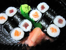Japanische Nahrung - Sushi Lizenzfreie Stockbilder