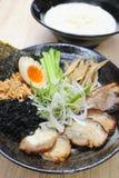Japanische Nudelsuppe Lizenzfreies Stockbild