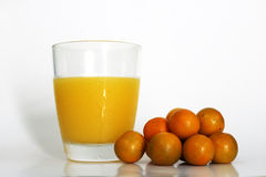 Japanische Orange, Mandarine, orange Stockfotografie