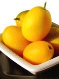 Japanische Orangen Lizenzfreie Stockfotos