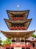Japanische Pagode Lizenzfreie Stockbilder