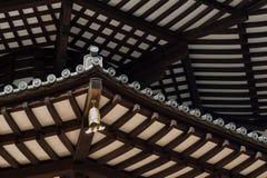 Japanische Pagoden-Dachbalken Stockfotografie