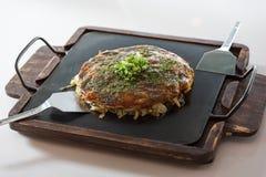 Japanische Pizza auf Ofen Stockfotografie