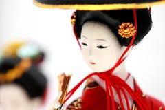 Japanische Puppe Lizenzfreies Stockfoto