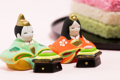 Japanische Puppe Lizenzfreie Stockbilder