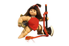 Japanische Puppe: Kintaro Puppe Lizenzfreies Stockfoto