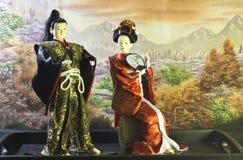 Japanische Puppen Stockfoto