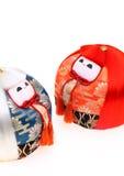 Japanische Puppen für Festival Lizenzfreies Stockfoto