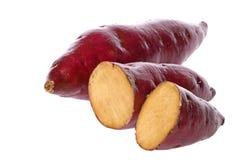Japanische süße Kartoffeln Lizenzfreie Stockfotos