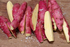 Japanische süße Kartoffeln Stockfotos