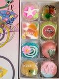 Japanische Süßigkeiten stockfotos