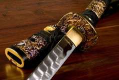 Japanische Samuraiklinge Stockfotografie