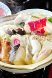 Japanische Shabu Sukiyaki Art Stockfotografie