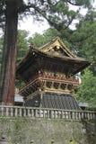 Japanische shintoistische buddhistische Tempel in Nikko Lizenzfreies Stockfoto