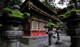 Japanische shintoistische buddhistische Tempel in Nikko Lizenzfreies Stockbild