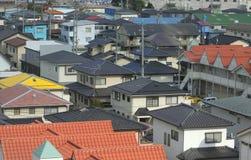 Japanische Stadt Lizenzfreie Stockfotos